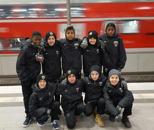 U12 überrascht in Dortmund !