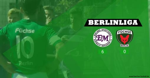 Berlin Liga. Keine Überraschung in Mahlsdorf