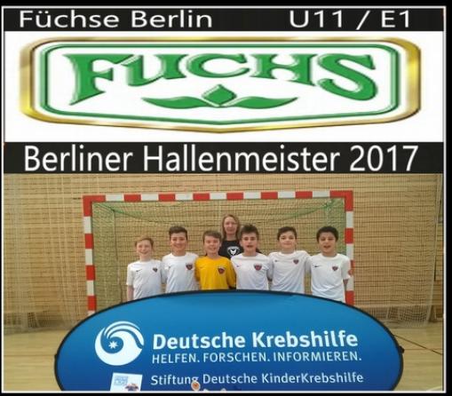 E1 wird Berliner Hallenmeister